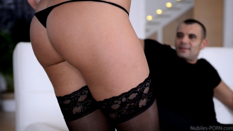 Passionate Milf in Stockings